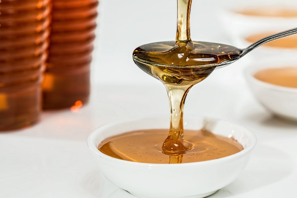 Honey antibiotic