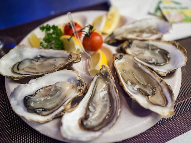 Oysters in Paris