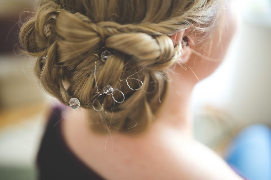 Messy Braids and Wrap Style