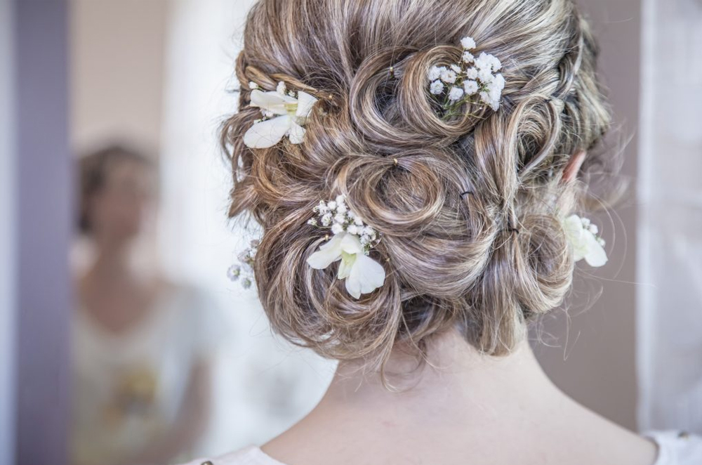 Low Clipped Look Bun Hairstyle