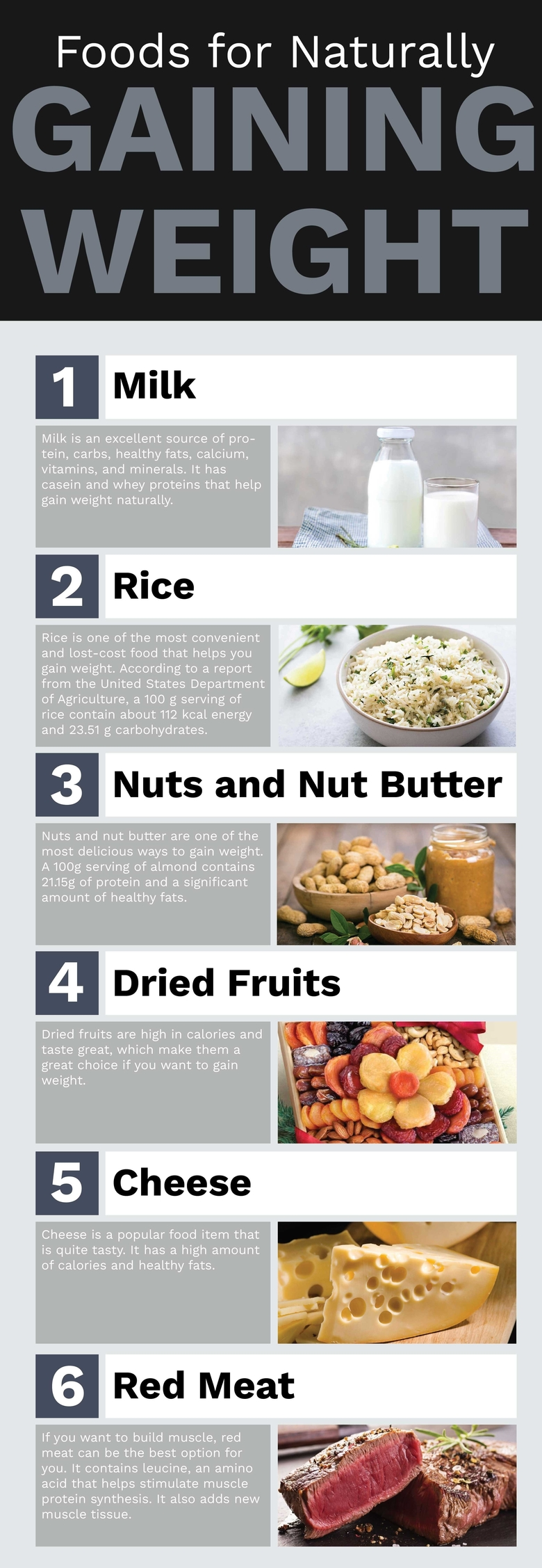 Food For Weight Gain