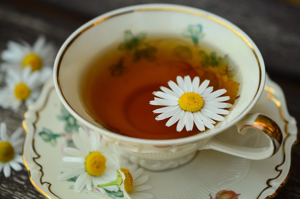 Chamomile tea for insomnia