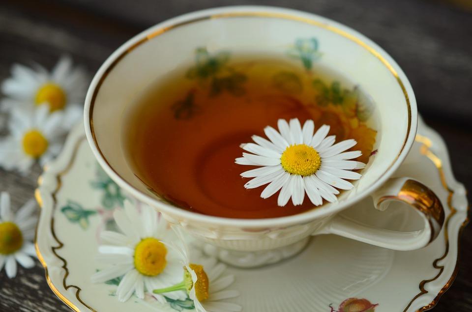 Chamomile tea for insomnia